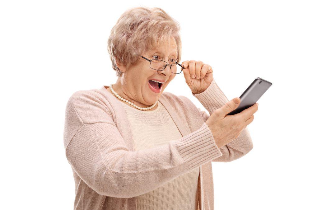 Kommunikation und Sicherheit – Mobiltelefone für Senioren