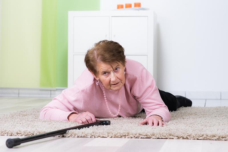 Unfallursache Nummer 1 Von Senioren: Stürze